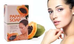 Etel USA Enriched Moisturizing Papaya Infused Soap - 10 Pack