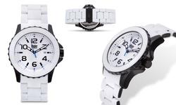 Wohler Men's Wolfgang Watch - White/Blue