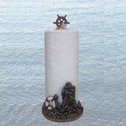 DWK Deck Swabbers Nautical Paper Towel Holder