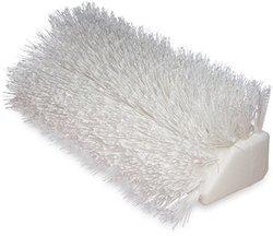 "10"" White HI-LO Floor Scrub Brush with Polyester Bristles"
