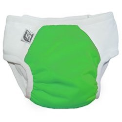 Super Undies Snap-On Training Pants - Fearsome Frog Green - Size: XXL