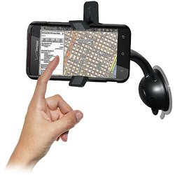 Amzer Car Mount & Case System for HTC Droid Incredible 4G LTE - Black