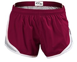 EMC Sports Momentum Shorts, Cardinal/Silver, Youth Small