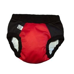 Super Undies! Bedwetting Pants, The Web Slinger (Red), Small