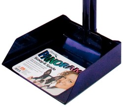 Flexrake Panorama Dog Waste Scoop Set - Purple - Size: Large
