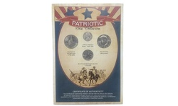 American Coin Patriotic Coin Collection with WWII Era Nickel