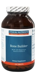 Ethical Nutrients Bone Builder Tablets with Magnesium, Boron and Vitamin D, 220 Count
