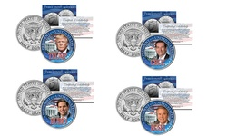 Merrick Mint Donald Trump 2016 U.S. Presidential Half Dollar Coins