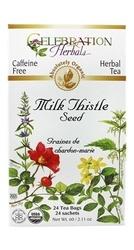 Celebration Herbals Milk Thistle Seed Herbal 24 Tea Bags