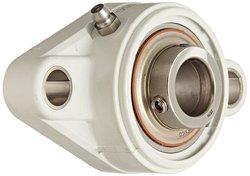 """MRC Flange Unit 2Bolt Holes Setscrew Locking Inner Ring 3/4"""" Bore Diameter"""