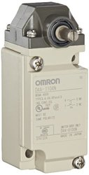 Omron D4A-1104-N Limit Switch Roller Lever High Senstivity/Low Torque