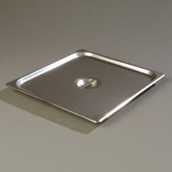 Carlisle Stainless Steel DuraPan Solid Cover