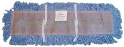Zephyr Blended Yarn Disposable Dust Mop Head - Blue
