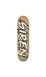 Siren Team Shocker Skateboard Deck - Glow - Size: 8
