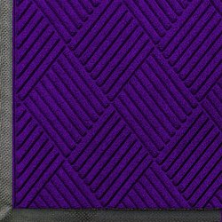 Andersen Diamond Polypropylene Fiber Indoor/Outdoor Floor Mat - Purple