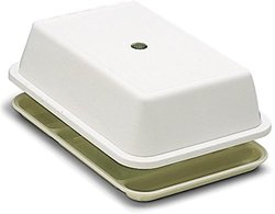 "Carlisle Compartment Tray Cover Fits - White - Size: 10""x14.5"""