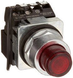 Siemens Plastic Lens Heavy Duty Push To Test Pushbutton Switch