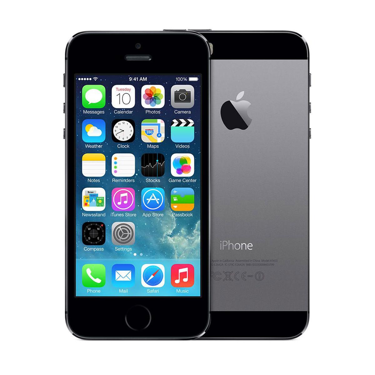 Ap apple iphone 5s space gray 32gb - Unlocked Apple Iphone 5s 32gb Ios 7 Smartphone Space Gray Me308ll A