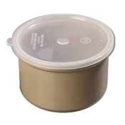 Carlisle 0310 Classic Beige Crock with Lid - 1.5 Qt. / Case 6