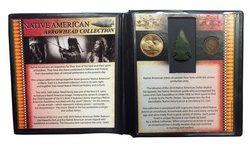 First Commemorative Mint Native American Arrowhead Collection