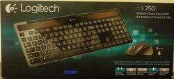 Logitech MK750 Wireless Solar Keyboard & Marathon Mouse Combo