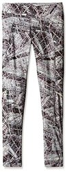 Dash Printed Leggings: Folk Grey-Large