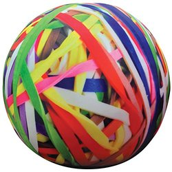 iscream Rubber Band Ball Shaped Microbead Pillow