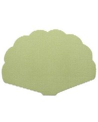 Fishnet Shell Placemat in Mist Green (Set of 12