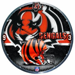 "Wincraft 18"" NFL Cincinnati Bengals High Definition Clock"