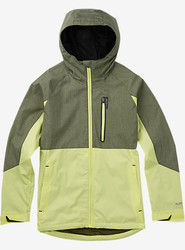 Burton Women's Berkley Jacket - Olive Night Heather/Sunny Lime - Medium