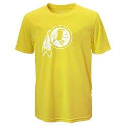 NFL Boys Washington Redskins T-Shirt - Neon Yellow - Size: X-Large (18)
