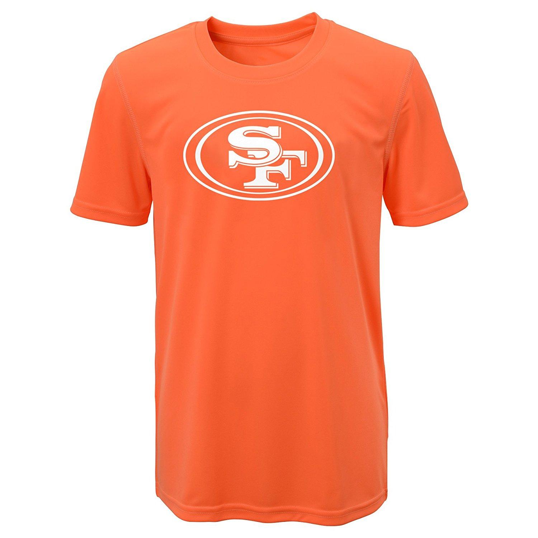 NFL San Francisco 49ers Boys T-Shirt - Neon Orange - Size  Small(8) - Check  Back Soon - BLINQ aaa80d0bc