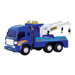"Wishtime 14"" Super Police Wrecker Vehicle Toy"
