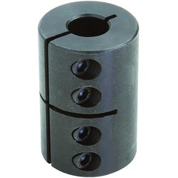 Climax Metal Mild Steel Black Oxide Plating Clamping Coupling (CC-150-100)