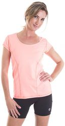 Alii Lifestyle Women's Classic Run T-Shirt - Coral - Size: Large