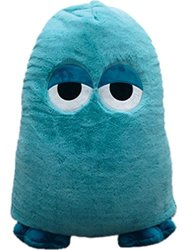 iscream Monstars Rock Plush Microbead Pillow Friend