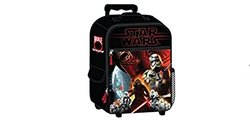 """Star Wars Luggage Kylo Ren And Troopers 17"""" Rolling Pilot Case - Red"""