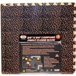 """IIT 16725 24"""" x 24"""" Leopard Mats,"""