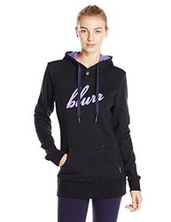 Blurr Women's Brandy Hoodies, Black, Large