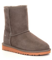 UGG Toddler Unisex Classic Short Pull on Boot - Primer - Size: 9