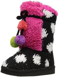 Muk Luks Girl's Lined Cold-Weather Boots - Jewel - Size: 13