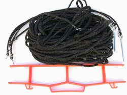 Home Court M825G Volleyball Boundary Grass Setup Rope, Black, 8 m