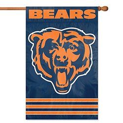 """Party Animal NFL Chicago Bears Banner Flag - Navy Blue - Size: 44"""" x 28"""""""