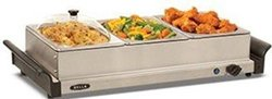 Bella 3x1-qt. Triple Buffet Server