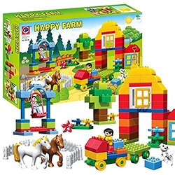 Vinciph Building Blocks for Kid's Early Development Intelligence Toy