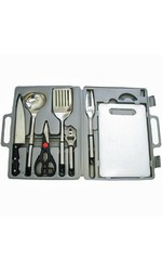 Prime Seven Piece Kitchen Tool Set Stainless Steel