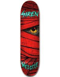 Siren Weigele Lazarus Skateboard Deck - Red - Size: 8.5