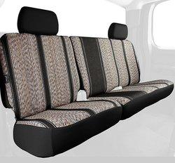 Fia Wrangler Rear Seat Cover Split Seat - Black