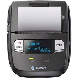 Star Micronics Portable THML 2'' Tbar, BT 4.0.USB, Black, USB