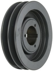 Browning 2TB66 Split Taper Sheave, Cast Iron, 2 Groove, A or B Belt, Uses P1 Bushing